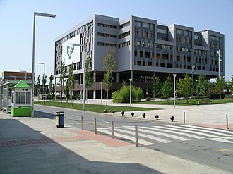 University of the Basque Country - The central library building in the complex of Leioa.