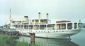 MV Liemba vid kaj i Kigoma