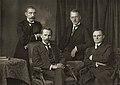 Lietuvos Tarybos prezidiumas.Presidium of Council of Lithuania (1918).jpg
