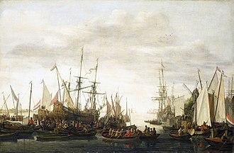 Lieve Verschuier - The keelhauling of the ships surgeon of admiral Jan van Nes, 1660 to 1686