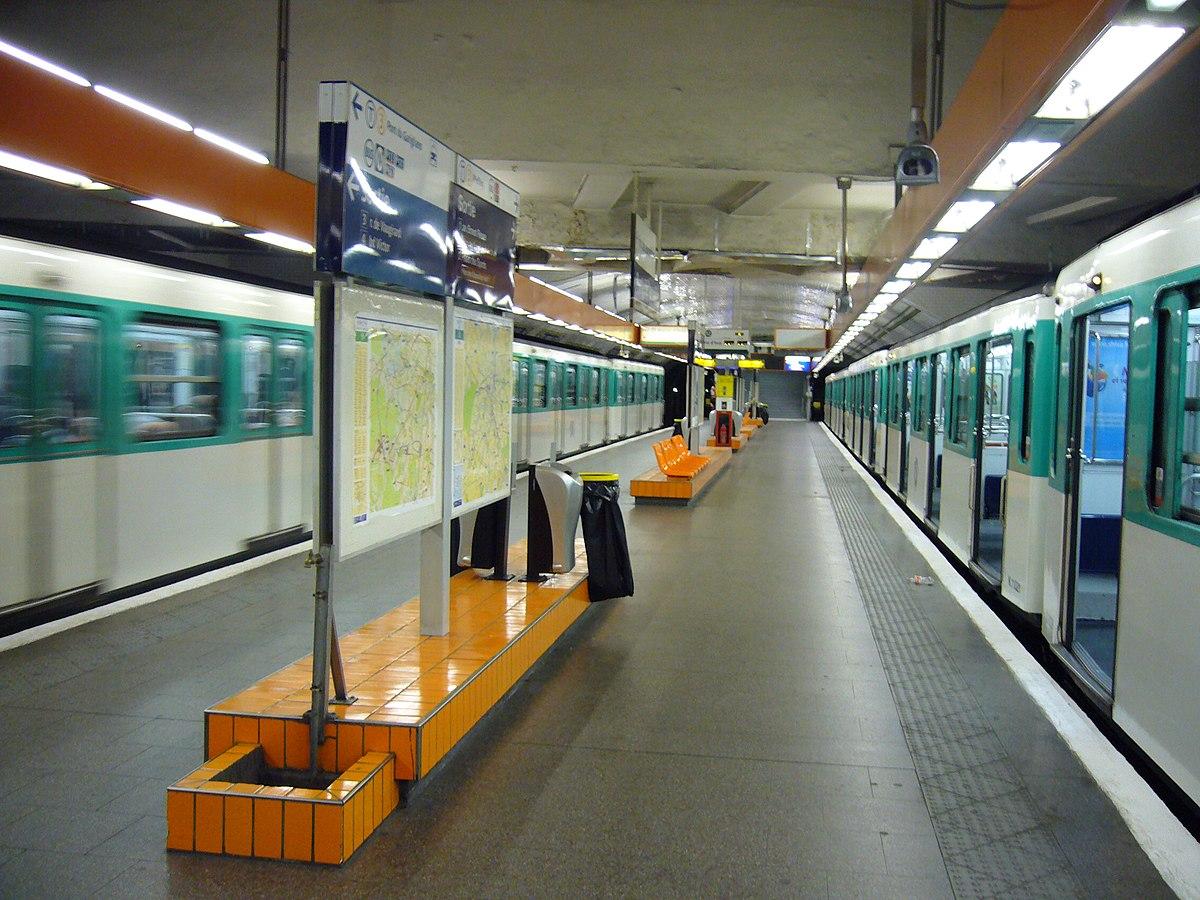 Porte de versailles stanice metra v pa i wikipedie for Salon porte de versaille kidexpo