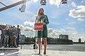 Lilian Marijnissen houdt hier een toespraak over een rechtvaardig beleid in Nederland.jpg