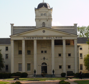 Limestone College at Limestone Springs Historic District in Gaffney.