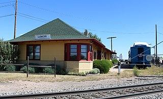Limon Railroad Depot
