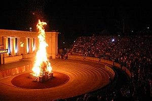 Big Game (American football) - 2006 Cal Big Game Bonfire Rally