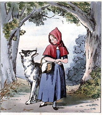 Viral phenomenon - Red Riding Hood, an example of a folktale