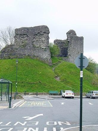 Llandovery Castle - Image: Llandovery Castle