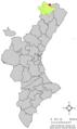 Localització d'Herbers respecte del País Valencià.png