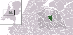 Location of Bilthoven