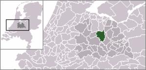 Bilthoven - Image: Locatie De Bilt