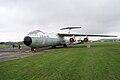 Lockheed C-141C Starlifter Hanoi Taxi LSideFront AirPark NMUSAF 26Sep09 (14596425211).jpg
