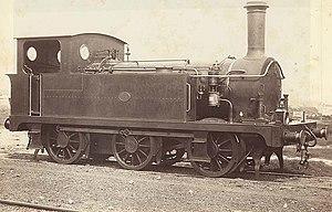New South Wales Z18 class locomotive - Z18 class 1806 c.1884
