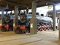 Locomotoras de vapor Mitsubishi, años 1952-1953. Museo Nacional Ferroviario Pablo Neruda, TEMUCO. Chile.jpg