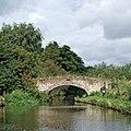 Lodgefield Bridge at Baswich, Stafford - geograph.org.uk - 1484164.jpg