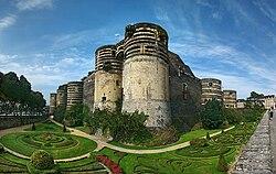 Le château d'Angers.