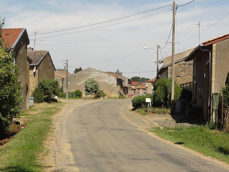 Loison (Meuse) route de Marville