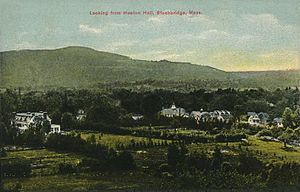 Stockbridge, Massachusetts - Image: Looking from Heaton Hall, Stockbridge, MA