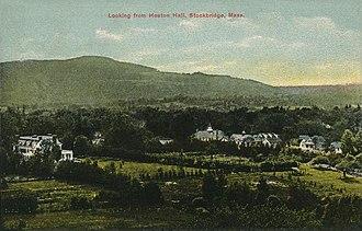 Stockbridge, Massachusetts - Image: Looking from Heaton Hall, Stockbridge, MA