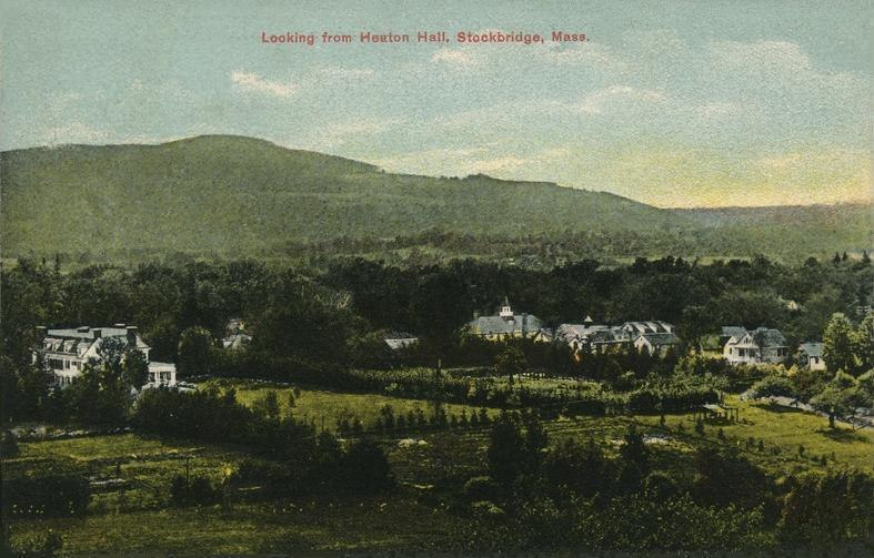 Looking from Heaton Hall, Stockbridge, MA