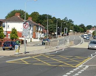 Newport Road - Newport Road on Rumney Hill