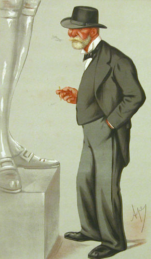 Clarence Paget - Lord Clarence Paget, by Carlo Pellegrini, 1875