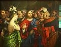 Lorenzo Lotto - The adulterous woman - Louvre.JPG