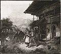 Lorenzo Quaglio (Umkreis) - Bauernpaar vor der Schänke - 14187 - Bavarian State Painting Collections.jpg