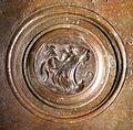 Lorenzo ghiberti e aiuti, porta nord del battistero di firenze, retro con teste leonine, 02.JPG