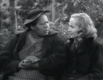 Louise Beavers - with Carole Lombard in Made for Each Other (1939)
