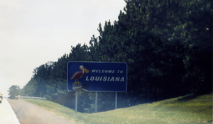 English: Louisiana Border