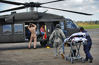 Louisiana National Guard - Louisiana National Guard evacuate citizens from Port Sulphur