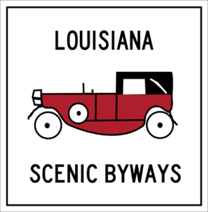 Louisiana Highway 1 - Image: Louisiana scenic byways