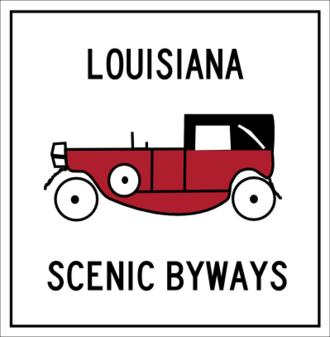 Louisiana Highway 1 - Image: Louisiana scenic byways