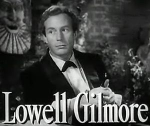 Lowell Gilmore - as Basil Hallward in The Picture of Dorian Gray (1945)