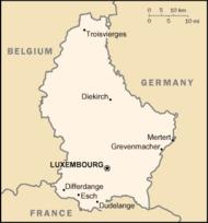 capital luxemburgo mapa Capital Holanda Mapa