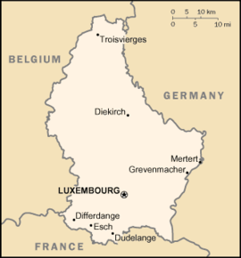 kart over luxembourg Luxembourg – Wikipedia kart over luxembourg