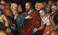 Lucas Cranach d. J. - Christus und die Ehebrecherin - 11142 - Bavarian State Painting Collections.jpg