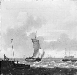 Ships off a Harbour