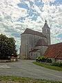 Lunegarde, église Saint-Julien, chevet et mur nord.jpg