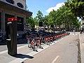 Lyon 3e - Station Vélo'v 3004 rue de la Part-Dieu (mai 2019).jpg