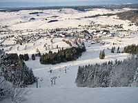Métabief, station de montagne du Doubs