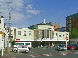 Mülheim (Ruhr) Hauptbahnhof - Entrance of station
