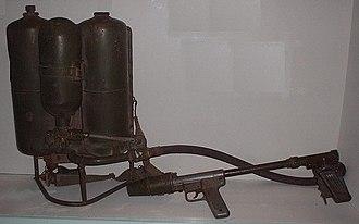M2 flamethrower - Image: M2Flamethrower VWM02