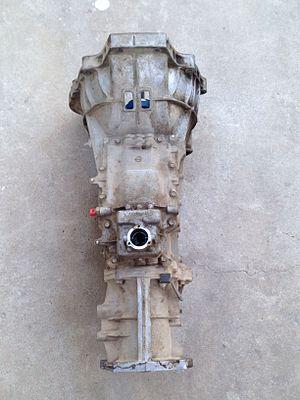 Mazda M5OD transmission - Image: M5OD transmission, top