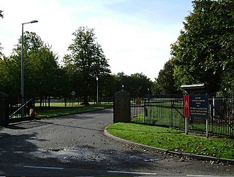 Colchester Garrison - The entrance to the Military Corrective Training Centre