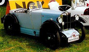 MG M-type - Image: MG M Type 1929