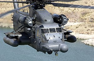 551st Special Operations Squadron - Squadron MH-53J Pave Low IIIE during training mission