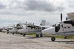 MINISTRO VALAKIVI ENTREGÓ MODERNA FLOTA DE 12 AERONAVES CANADIENSES TWIN OTTER DHC-6 SERIE 400 A LA FUERZA AÉREA DEL PERÚ (19591050555).jpg