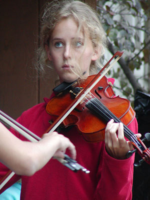 A youth fiddle performance at the Minnesota State Fair MNfiddles.jpg