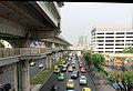 MRT Lak Song station - Park n ride buildings skyway.jpg